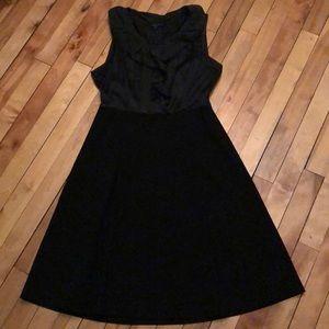 Theory Ruffle Front Dress